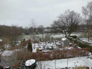 Schnee am ersten April