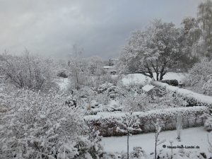 Wintereinbruch Ende April